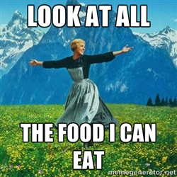 i can eat food